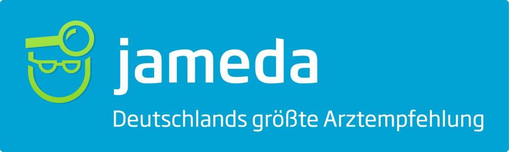 jameda Logo mit Claim1